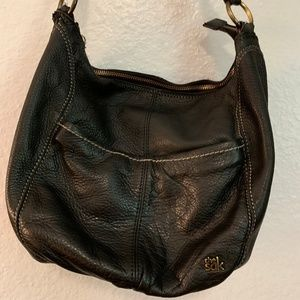 The Sak Black Hobo Crossbody Purse
